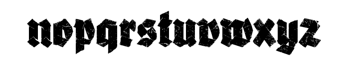 Adhesive Nr. Seven Regular Font LOWERCASE