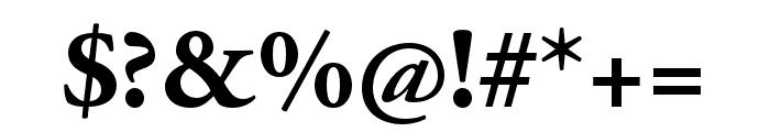 Adobe Garamond Pro Bold Font OTHER CHARS