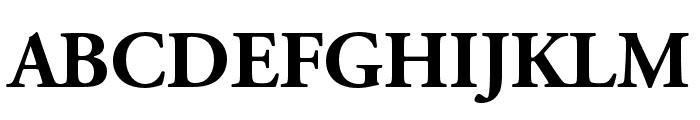 Adobe Garamond Pro Bold Font UPPERCASE