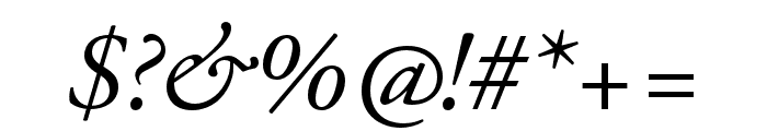 Adobe Garamond Pro Italic Font OTHER CHARS