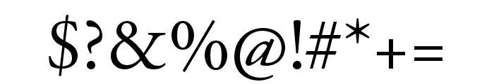 Adobe Garamond Pro Regular Font OTHER CHARS