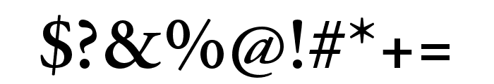 Adobe Garamond Pro Semibold Font OTHER CHARS