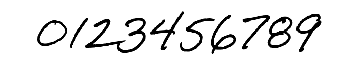 Adobe Handwriting Tiffany Font OTHER CHARS