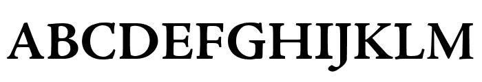 Adobe Jenson Pro Bold Font UPPERCASE