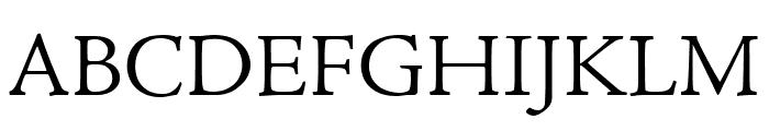 Adobe Jenson Pro Light Font UPPERCASE