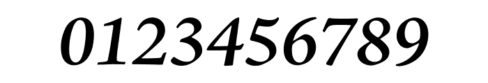 Adobe Jenson Pro Semibold Italic Display Font OTHER CHARS
