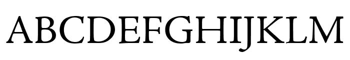 Adobe Jenson Pro Subhead Font UPPERCASE