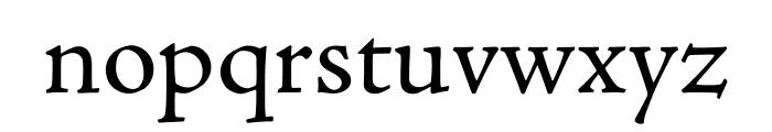 Adobe Jenson Pro Subhead Font LOWERCASE