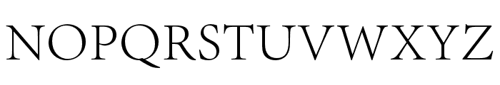 Adobe Song Std L Font UPPERCASE