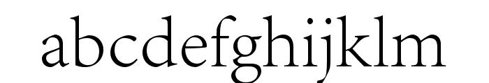 Adobe Song Std L Font LOWERCASE