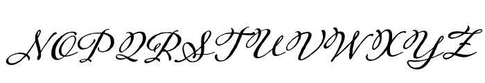Adorn Catchwords Regular Font UPPERCASE