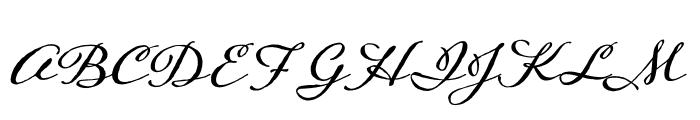 Adorn Expanded Sans Regular Font UPPERCASE