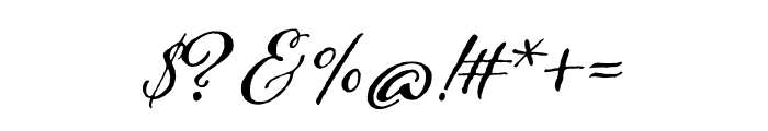 Adorn Solo Regular Font OTHER CHARS