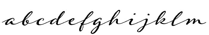 Adorn Trio Regular Font LOWERCASE