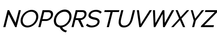 Adrianna Condensed Italic Font UPPERCASE