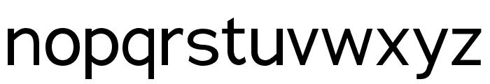 Adrianna Condensed Regular Font LOWERCASE