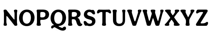 Aesthet Nova Bold Font UPPERCASE