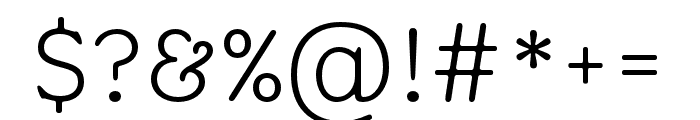 Aesthet Nova Light Font OTHER CHARS