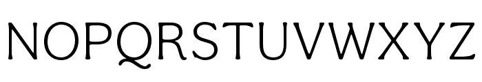 Aesthet Nova Light Font UPPERCASE