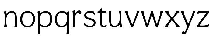 Aesthet Nova Light Font LOWERCASE