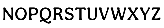 Aesthet Nova Medium Font UPPERCASE