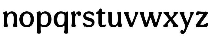 Aesthet Nova Medium Font LOWERCASE