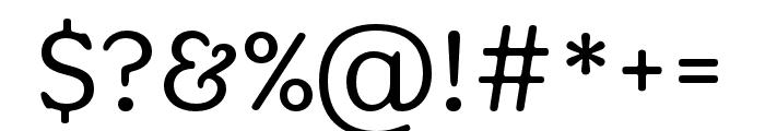 Aesthet Nova Regular Font OTHER CHARS