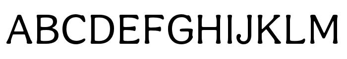Aesthet Nova Regular Font UPPERCASE