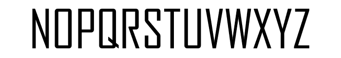 AgencyFB RegularCompressed Font UPPERCASE