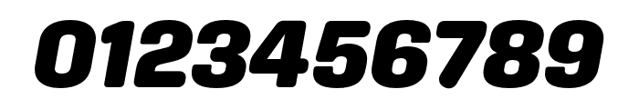 Aglet Sans Black Italic Font OTHER CHARS