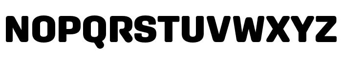 Aglet Sans Black Font UPPERCASE
