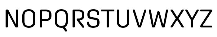 Aglet Sans Regular Font UPPERCASE