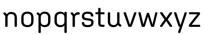 Aglet Sans Regular Font LOWERCASE