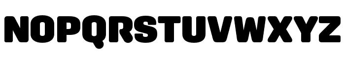 Aglet Sans Ultra Font UPPERCASE
