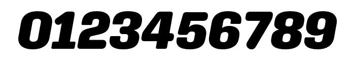 Aglet Slab Black Italic Font OTHER CHARS