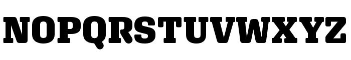 Aglet Slab Black Font UPPERCASE