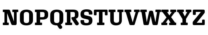 Aglet Slab Bold Font UPPERCASE