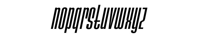 Ainsdale Medium Italic Font LOWERCASE