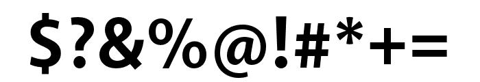 Akagi Pro Bold Font OTHER CHARS