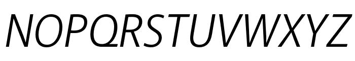 Akagi Pro Book Italic Font UPPERCASE