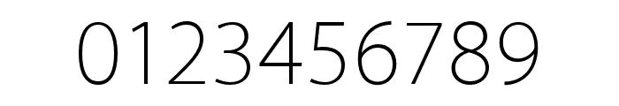 Akagi Pro ExtraLight Font OTHER CHARS