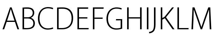Akagi Pro Light Font UPPERCASE