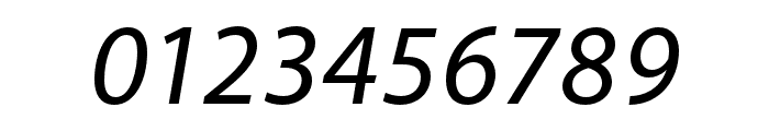 Akagi Pro Medium Italic Font OTHER CHARS
