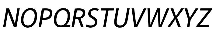 Akagi Pro Medium Italic Font UPPERCASE
