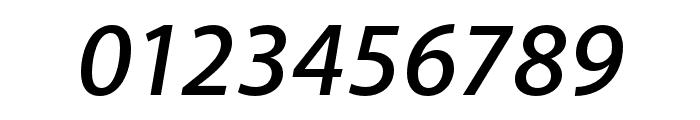Akagi Pro SemiBold Italic Font OTHER CHARS
