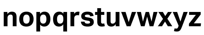 Aktiv Grotesk Bold Font LOWERCASE