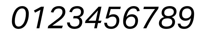 Aktiv Grotesk Ex Italic Font OTHER CHARS