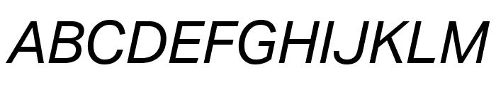 Aktiv Grotesk Ex Italic Font UPPERCASE