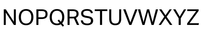 Aktiv Grotesk Regular Font UPPERCASE