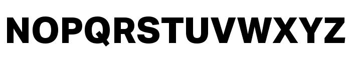 Aktiv Grotesk XBold Font UPPERCASE